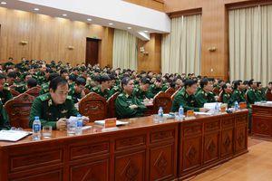 Bộ tư lệnh Bộ đội Biên phòng quán triệt Nghị quyết về chiến lược bảo vệ biên giới quốc gia