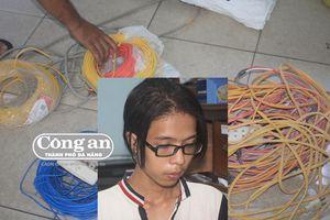 Cắt dây điện bán phế liệu
