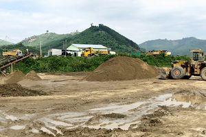 Khai thác cát 'núp bóng' dự án nạo vét