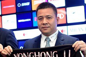 Ông chủ cũ người Trung Quốc của AC Milan bị liệt vào danh sách 'nợ chúa chổm'