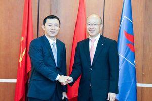 Chủ tịch HĐQT PV Power tiếp đại diện Tokyo Gas