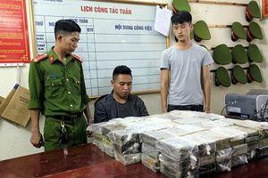 Bắc Kạn: Cắt gầm máy xúc giấu gần 200 bánh heroin