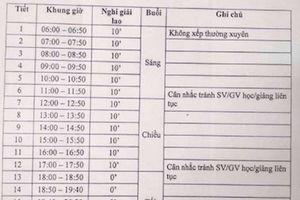 Sinh viên Bách khoa hoang mang với lịch học từ 6h sáng