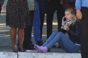 Sinh viên Crimea hoảng loạn bỏ chạy trong vụ xả súng và nổ bom