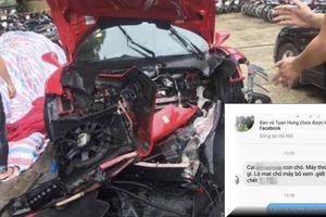 Bị dọa giết vì hỏi xoáy Tuấn Hưng có gãy răng sau tai nạn siêu xe