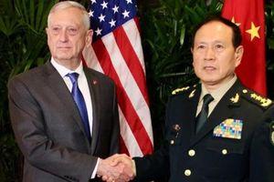 Bộ trưởng quốc phòng Mỹ-Trung hội đàm bên lề hội nghị tại Singapore
