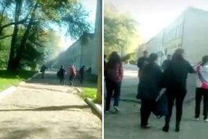 Video ghi lại khoảnh khắc kinh hoàng sinh viên trốn chạy khỏi vụ nổ ở trường cao đẳng Crimea