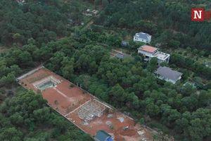 Cấm thi công biệt thự sai phạm ở Sóc Sơn: 'Chủ nhà vẫn yêu cầu làm bình thường'