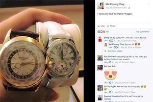 Mai Phương Thúy 'chơi sang' khi tặng Mỹ Linh đồng hồ hơn 1 tỷ đồng
