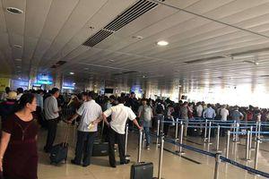 Sân bay Tân Sơn Nhất tê liệt với sự cố mất điện đột ngột