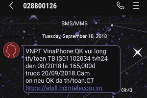 Không sử dụng dịch vụ vẫn bị VNPT đòi nợ