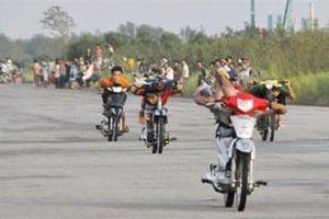 Ngăn chặn kịp thời nhóm thanh niên tụ tập đua xe trái phép