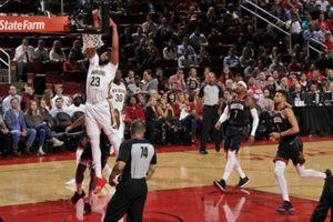 Chùm ảnh: Anthony Davis 'tiêu diệt' Houston Rockets