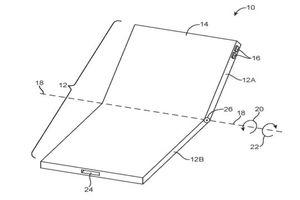 Apple chưa bao giờ ngừng mơ về iPhone màn hình gập