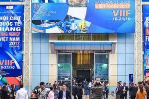 Ngày 23/10 sẽ diễn ra Hội chợ quốc tế ngành công nghiệp