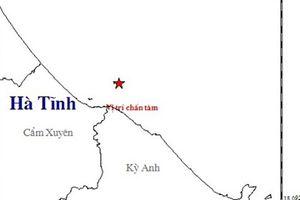 Động đất mạnh 3,8 độ richter là nguyên nhân gây nhiều tiếng nổ lớn tại Hà Tĩnh