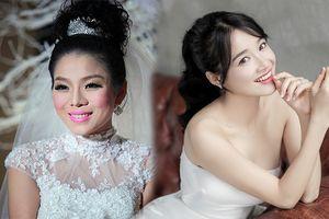 Sao Việt ngày cưới: Giật mình vì sự khác biệt giữa Lan Khuê, Nhã Phương với Jennifer Phạm, Lệ Quyên