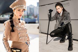 Gil Lê mang gậy đầu lâu giống Sơn Tùng, Hoàng Oanh nổi loạn trên thảm đỏ Seoul Fashion Week