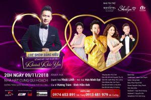 Live show Bằng Kiều tại Hạ Long dời sang ngày 09/11/2018