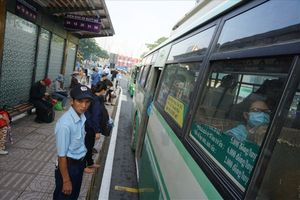 TP.HCM: Tăng thêm giá vé 3.000 đồng 2 tuyến buýt