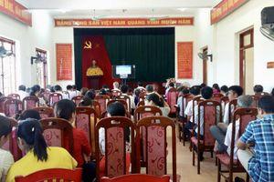 Quảng Ninh tập trung xây dựng, kiện toàn đội ngũ cán bộ ở cơ sở