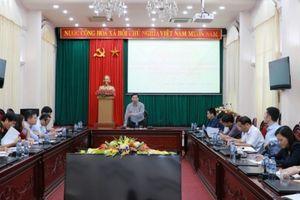 Ninh Bình: Hội nghị kiểm điểm tiến độ tổ chức Lễ hội văn hóa, thể thao và du lịch năm 2018