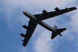 Pháo đài bay B-52 của Mỹ hoạt động gần Biển Đông