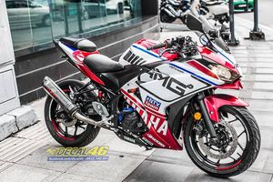 Yamaha YZF-R3 được trang bị bộ 'áo' độc với họa tiết AMG
