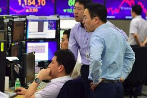 Chứng khoán châu Á giảm điểm sau tín hiệu FED sẽ tăng lãi suất