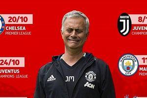 Biếm họa 24h: Mourinho 'khóc thét' vì lịch thi đấu siêu khó của MU