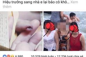 Phụ huynh tố cô giáo đánh chảy máu vùng kín bé trai 3 tuổi: Kết quả xác minh thế nào?