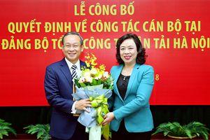 Trao Quyết định chuẩn y Bí thư Đảng ủy Tổng công ty vận tải Hà Nội