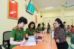 Công bố chỉ số cải cách hành chính trong Công an nhân dân