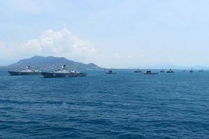 Hồi hộp chờ đợi Lễ duyệt binh hải quân quốc tế do Việt Nam tổ chức