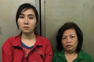 Cô gái trẻ bế con 2 tuổi đi bán ma túy