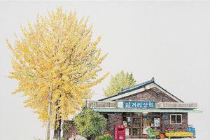 Có một Hàn Quốc cũ kỹ và đáng yêu qua những bức họa tiệm tạp hóa 4 mùa