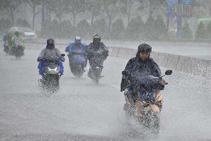 Mưa lớn diện rộng tại Nam Bộ, nguy cơ hình thành áp thấp nhiệt đới trên biển