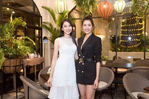 Á hậu Thúy Vân truyền kinh nghiệm cho Nguyễn Thúc Thùy Tiên trước thềm thi Miss International 2018