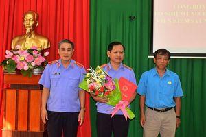 Bố nhiệm lại Phó Viện trưởng VKSND tỉnh Tây Ninh