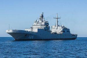 Tàu đổ bộ cỡ lớn 'Peter Morgunov' của Nga dự kiến thử nghiệm vào cuối năm nay