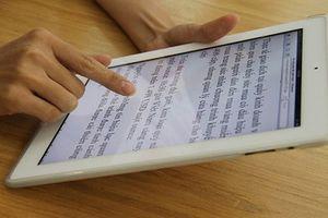 Sách điện tử tại Việt Nam thay đổi phù hợp với xu thế