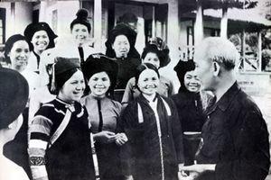 'Từ xưa đến nay, từ Nam đến Bắc, từ trẻ đến già, phụ nữ Việt Nam ta thật là anh hùng'