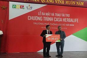 Herbalife tài trợ hơn 500 triệu đồng cho học sinh khiếm thính THCS Xã Đàn