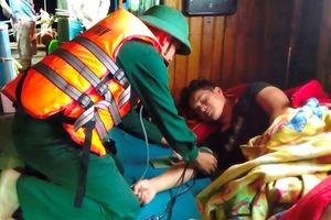 Cứu thành công tàu cá gặp nạn trên biển