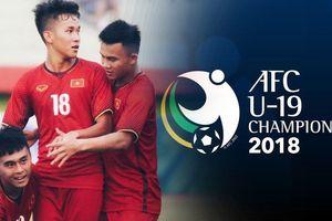 Xem trực tiếp U19 Việt Nam, U19 châu Á 2018 ở đâu?