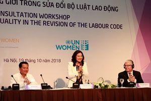 Sửa đổi Bộ luật Lao động để Việt Nam thực thi các cam kết quốc tế trong lĩnh vực bình đẳng giới
