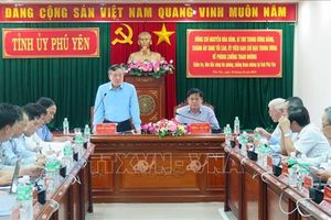 Đoàn công tác Ban chỉ đạo Trung ương về phòng, chống tham nhũng làm việc tại Phú Yên