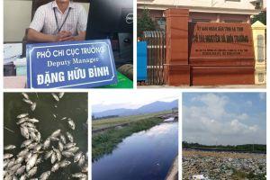 Hà Tĩnh: Lãnh đạo Chi cục Bảo vệ môi trường khẳng định nước kênh đổi màu, cá chết là do nước thải từ bãi rác Hồng Lộc