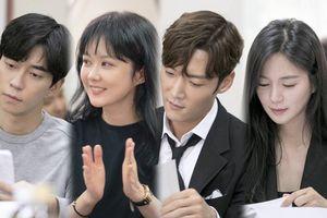 Vì quá say sưa, Jang Nara - Choi Jin Hyuk và 'ác nam' Shin Sung Rok mất 5 tiếng để đọc kịch bản 'Empress's Dignity'