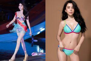 Diện áo tắm phô diễn vòng ba 1 mét, Á khôi Huỳnh Vy bất ngờ giật giải Hoa hậu có hình thể đẹp nhất
